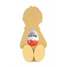 18mm Freestanding Boy Kinder Egg Holder with 3D Feet
