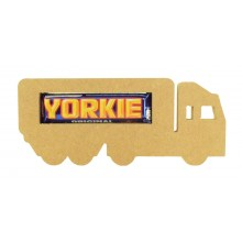 18mm Freestanding Yorkie Lorry Chocolate Bar Holder