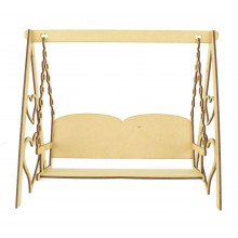 Laser Cut Swinging Bench