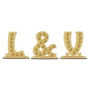 6mm Letter Initials Set Ferrero Rocher Confectionery Holder