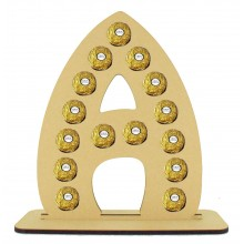 6mm Letter Ferrero Rocher Confectionery Holder
