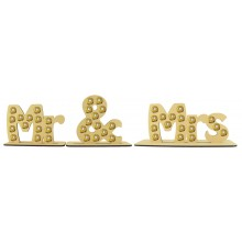 6mm Mr & Mrs Ferrero Rocher Confectionery Holder Set