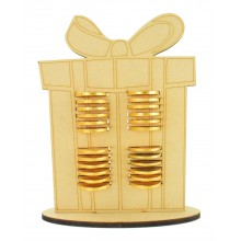 6mm Present Chocolate Coin Holder Advent Calendar
