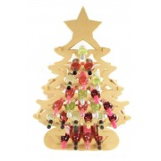 Giant sized 18mm Freestanding Christmas Tree Wine Holder Advent Calendar - To Fit Standard 750ml Wine Bottles
