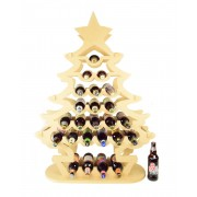 Giant sized 18mm Freestanding Christmas Tree Ale Holder Advent Calendar - To Fit Standard 500ml Ale Bottles