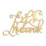 Laser Cut 'Eid Mubarak' Sign
