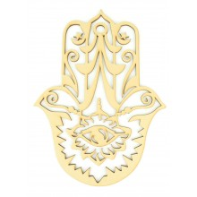 Laser Cut Decorative Arabic Hand of Fatima