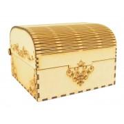 Laser Cut Small Decorative Wedding USB Storage Gift Box