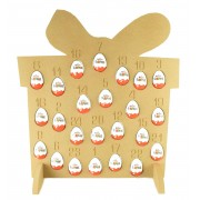 Super sized 18mm Freestanding Christmas Kinder Egg Holder Advent Calendar - PRESENT