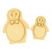 18mm Freestanding 3D Cute Boy Penguin - Options Available