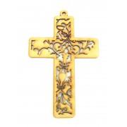 Laser Cut Detailed Cross Decoration