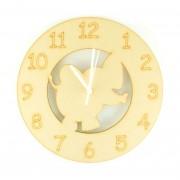 Laser cut Elephant Clock with Clock Mechanism