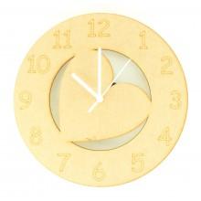 Laser cut Heart Clock with Clock Mechanism