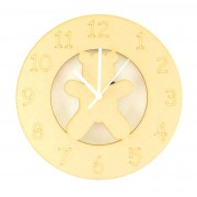 Laser cut Teddy Clock with Clock Mechanism