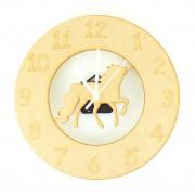 Laser cut Unicorn Clock with Clock Mechanism