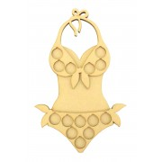 Laser Cut Women's Bikini Beach Body 14lb Weight Loss £1 Coin Holder
