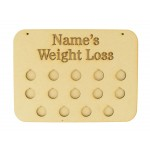 Weightloss Chart Coin Holders