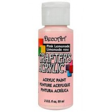 DecoArt Crafters Acrylic - Pink Lemonade 2oz