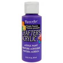 DecoArt Crafters Acrylic - Purple Passion 2oz