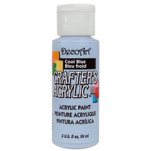 DecoArt Crafters Acrylic - Cool Blue 2oz
