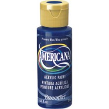 2oz  Primary Blue Amer Acrylic Craft Paint