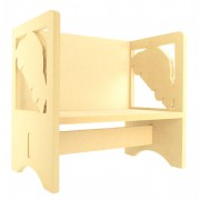 Routered 18mm MDF Quality Flat packed Car Novelty Chair