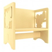 Routered 18mm MDF Quality Flat packed Elephant Novelty Chair