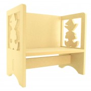 Routered 18mm MDF Quality Flat packed Elf Novelty Chair
