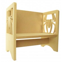 Routered 18mm MDF Quality Flat packed Spider Novelty Chair