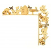 Laser Cut Tumbling Door Frame Decoration - Fairy