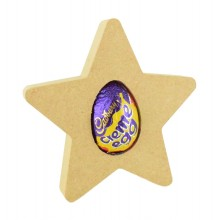 18mm Freestanding Easter CREME EGG Holder - Star