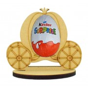 6mm Princess Carriage Kinder Egg Holder on a Oval Stand