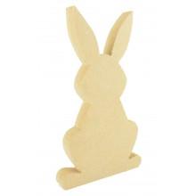 18mm Freestanding Easter Rabbit Shape