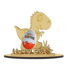 6mm Dinosaur Shape Kinder Egg Holder on a Stand - Stand Options