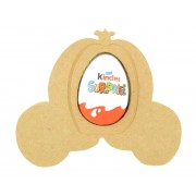 18mm Freestanding Easter KINDER EGG Holder - Princess Carriage