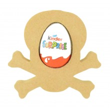 18mm Freestanding Easter KINDER EGG Holder - Skull
