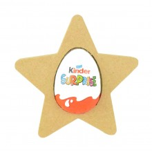 18mm Freestanding Easter KINDER EGG Holder - Star