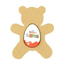 18mm Freestanding Easter KINDER EGG Holder - Teddy