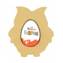 18mm Freestanding Easter KINDER EGG Holder - Owl