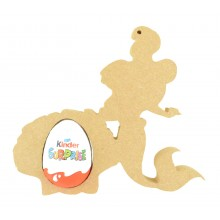 18mm Freestanding Easter KINDER EGG Holder - Mermaid with Shell