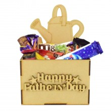 Laser Cut Fathers Day Hamper Treat Boxes - Gardening
