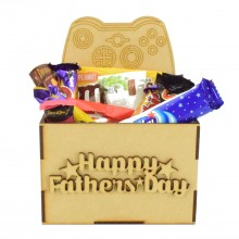 Laser Cut Fathers Day Hamper Treat Boxes - X-Box Controller
