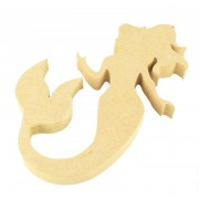 18mm MDF Mermaid Shape