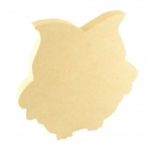 18mm Freestanding MDF Owl Shape