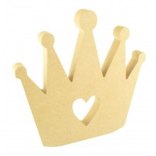 18mm Freestanding MDF Princess Crown Shape