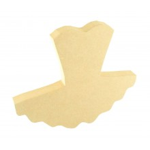 18mm Freestanding MDF Ballet Tutu Shape