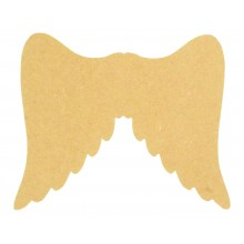 18mm Freestanding MDF Angel Wings Shape
