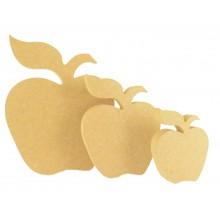 18mm Freestanding MDF Apple Shape