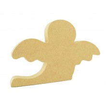 18mm Freestanding MDF Halloween Ghost Shape