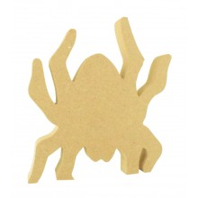 18mm Freestanding MDF Halloween Spider Shape